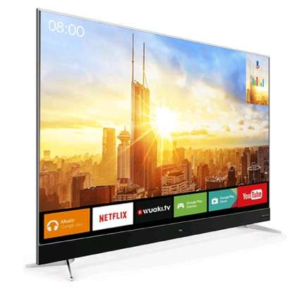 TCL 55 inch 4K UHD Android TV image 1