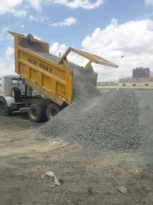 Ballast,Quarry dust and Rock sand