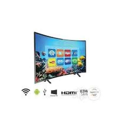 Hisense 55 inch  UHD 4K Curved Smart LED TV image 1