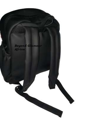 Small Leather Ankara Laptop Bag image 2