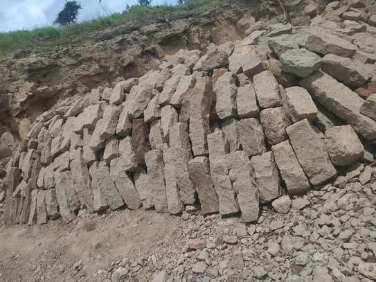 Quarry hand cut stones ideal for Foundation (9 by 9)