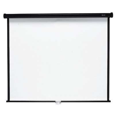 ''96x96'' Electric Projection Screen With Automatic Remote Control image 1