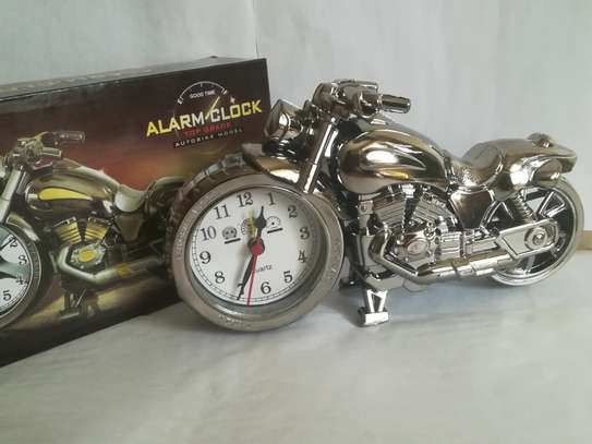 Creative Motorcycle shaped Alarm clock image 5