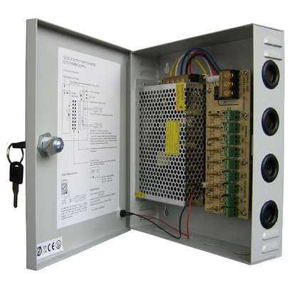 cctv power supply 20 amps closed