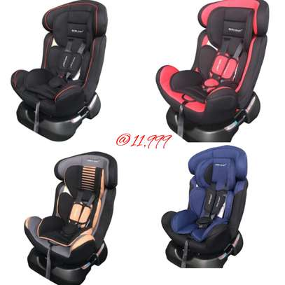 baby Reclining Infant Car Seat & Booster with a Base-Baby (0-7Yrs) image 1