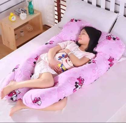 Pregnancy Pillow with a removable cotton cover