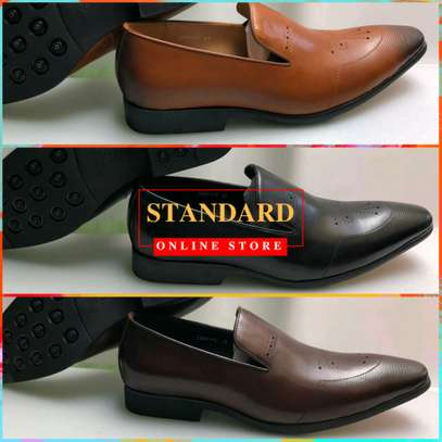 Men's Official Italian Leather Shoes with rubber sole image 14