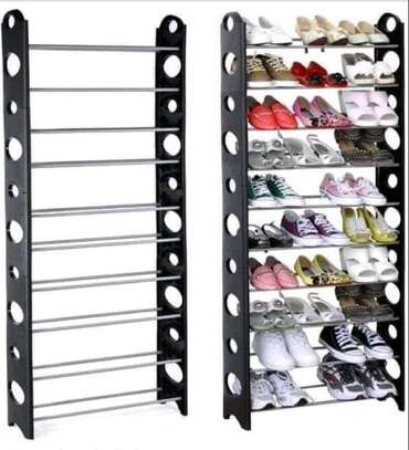 30Pair Stackable Shoe Rack