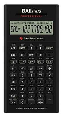 Texas Instruments BA II Plus Professional Financial Calculator image 1