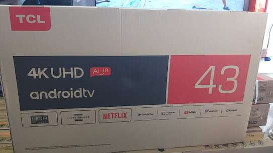 43 inch TCL smart Android 4k