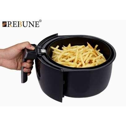 Rebune Air Fryer 3.5L, 1500W - Black image 4