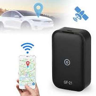 GF-21 Mini Real Time GPS Car Tracker Anti-Lost Device Voice Control High-definition Recording Locator - Black image 1