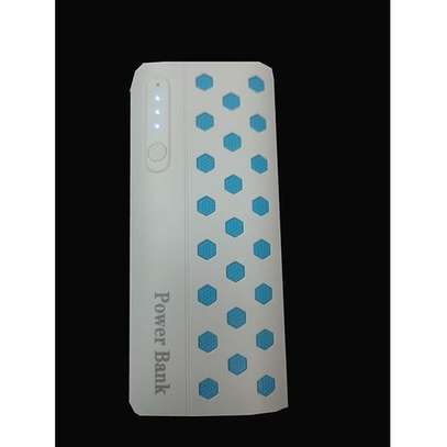 20000mAh powerbank With LED light - White.