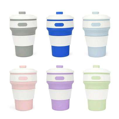 Collapsible & portable silicone cups. image 4