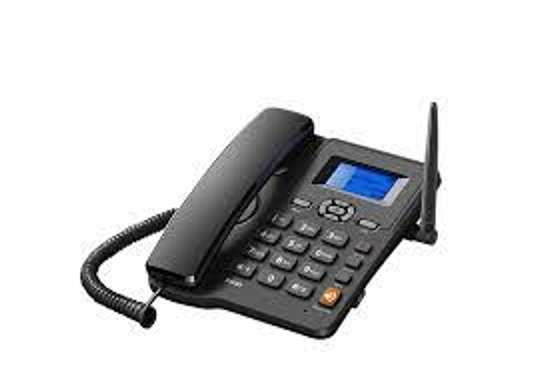 ETS 6588 GSM Fixed Wireless Phone with SIM Card Slot image 1