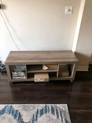 Simple wooden tv stands image 1