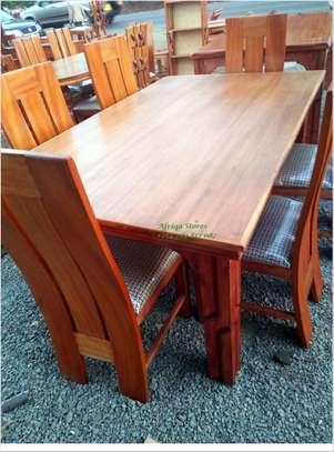 Mahogany dining table image 5