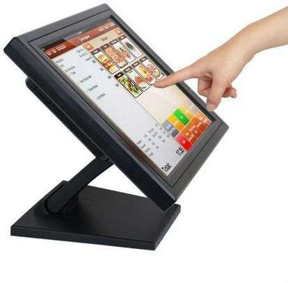 15 Inch Point Of Sale POS Touch Screen LCD Monitor Computer Display image 1