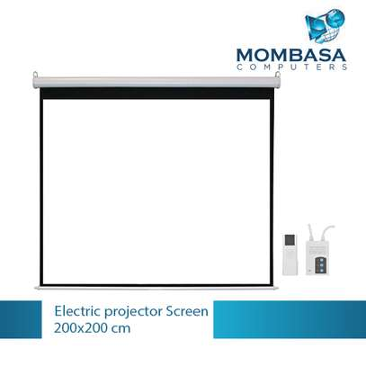Electric Projector Screen 200x200 image 3