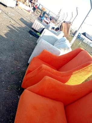 One seater sofas for sale in Nairobi Kenya/king size sofas/orange sofas image 2