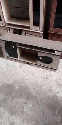 Two door tv stand image 1