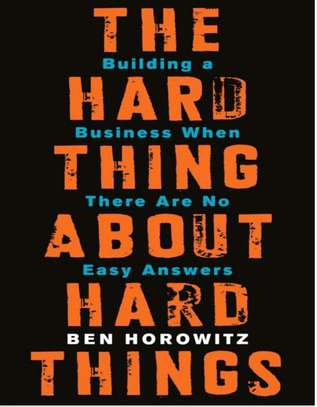 The hard thing about hard things image 1