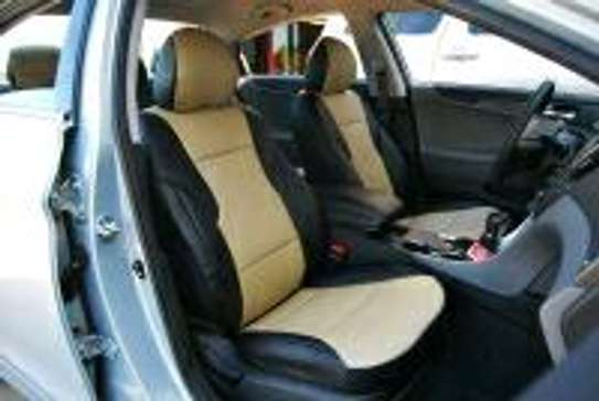 Upholstery leather seat covers