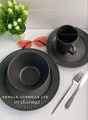 24pcs Ceramic Dinner set image 1