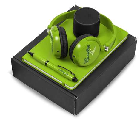 Branded GiftSet (Headphones, Notebook and Pen) image 2
