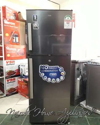 Mika No Frost Fridge 200L(Dark Matt SS)-225XDM image 1
