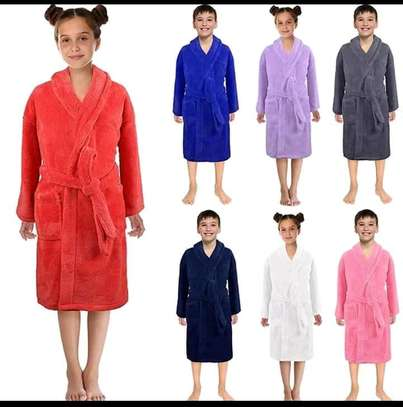 Kids and adult bath robes image 2