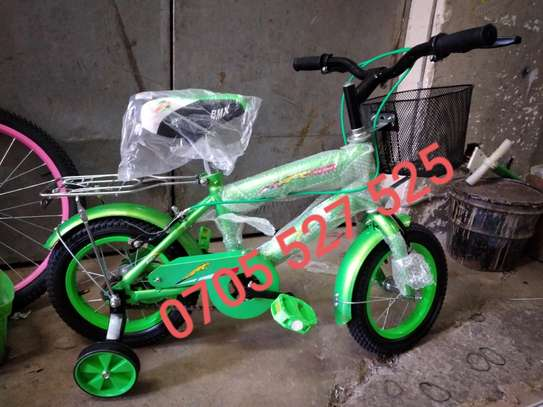 12inch green Bmx speedking bike