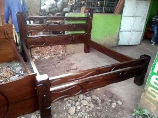 5 by 6 Solid Bed