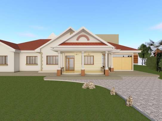 Residential House plans image 1