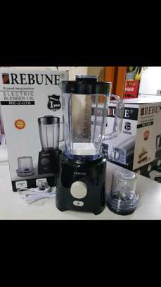 2 in 1 blender with unbreakable jug