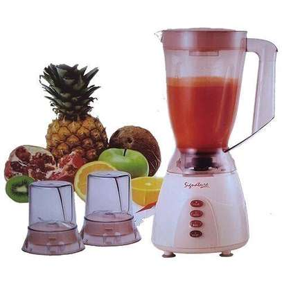 Signature 3 in 1 Blender with Grinder and Chopper - 1.5 Litres - Classic Cream image 1