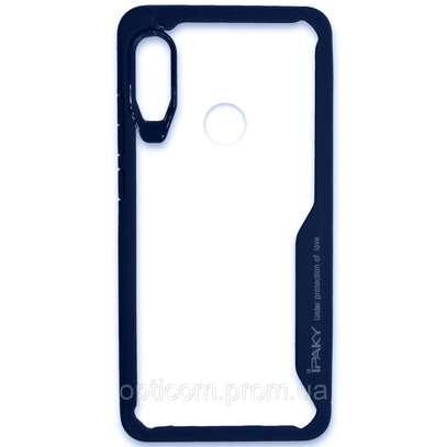 IPAKY Hybrid Shockproof Transparent Case for Samsung M30 M20 M10 image 5