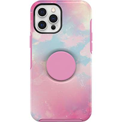 iPhone 12 and iPhone 12 Pro Otter + Pop Symmetry Series Case image 1
