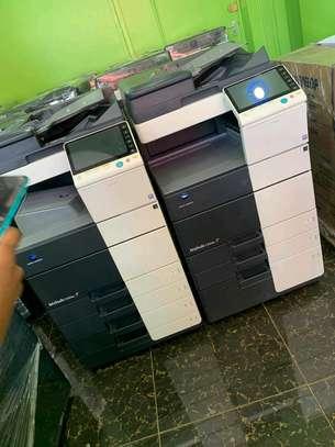 Konica Minolta Bizhub C554e photocopier image 1