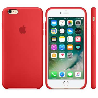 Silicone case with Soft Touch for iPhone 6+/iPhone 6S Plus image 4