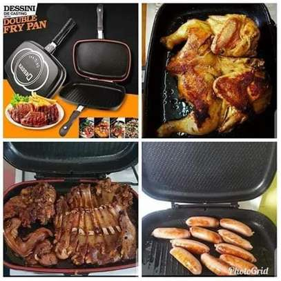40 cm double sided grill pan image 3