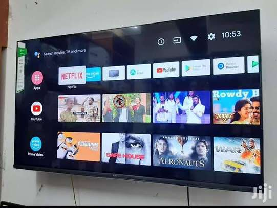 Synix 43 inch smart android frameless TV image 1