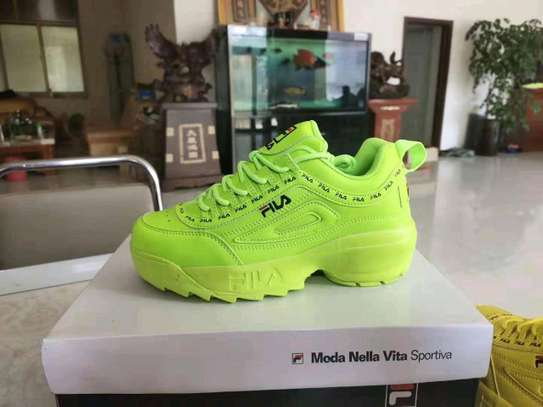 Ladies fila sneakers image 3