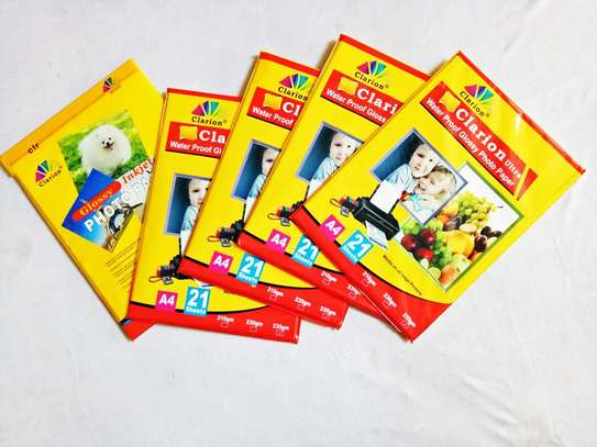 Clarion Glossy Photo Papers A 4 / 4 R size image 1