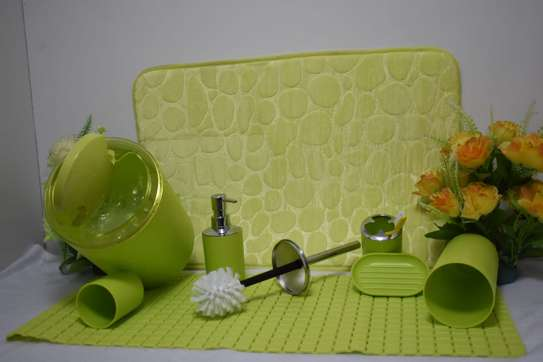 Toilet mats set image 2