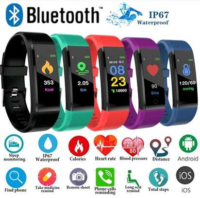 115 PLUS Smart Watch Heart Rate Smartwatch Sport Watch for ios android image 2