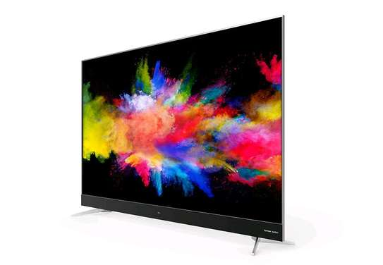 TCL 65 INCH 4K ULTRA HD LED SMART ANDROID TV, BLACK image 1