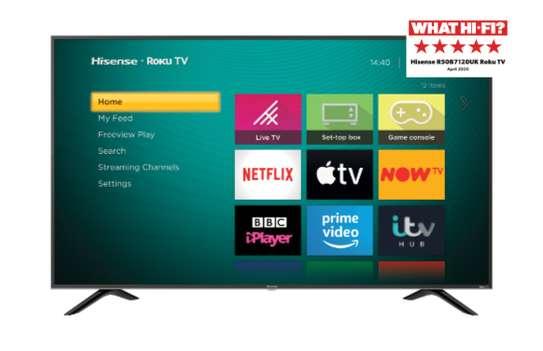 "hisense 43"" smart android TV image 1"