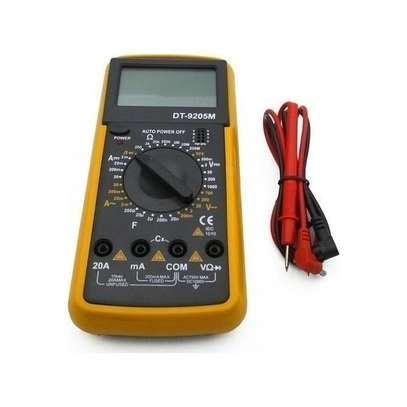 Digital Multimeter LCD AC/DC Ammeter Resistance Capacitance image 2