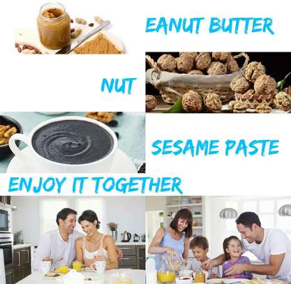 Commercial Electric Peanut Butter Maker Machine, Sesame Paste Peanut Butter Milling Making Miniature Household Automatic Grinding Machine image 2